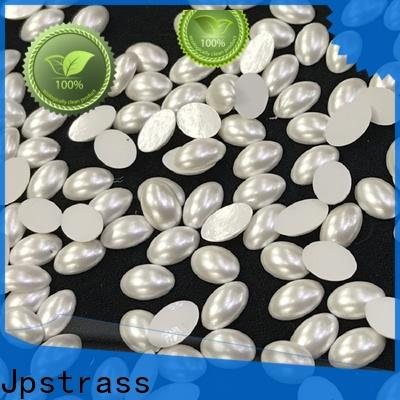 bulk purchase red flat back pearls shape manufacturer for ballroom