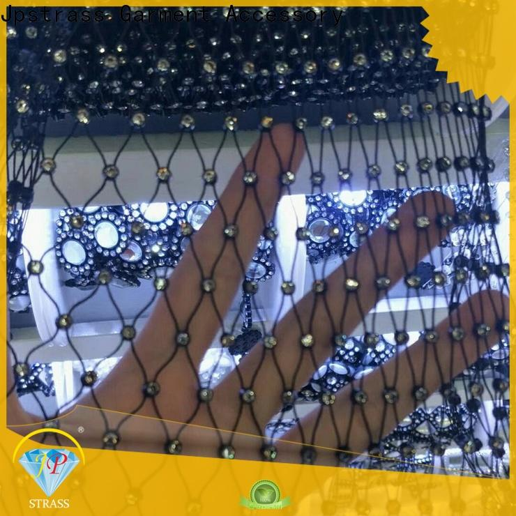 shiny diamond mesh wrap roll sparkle rhinestone various factory for clothes