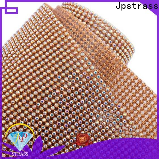 Jpstrass bulk rhinestone cup chain supplier for party