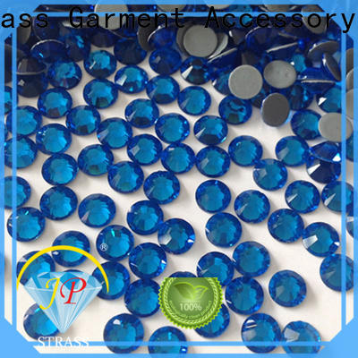 Jpstrass quality hot fix crystals manufacturer for clothes