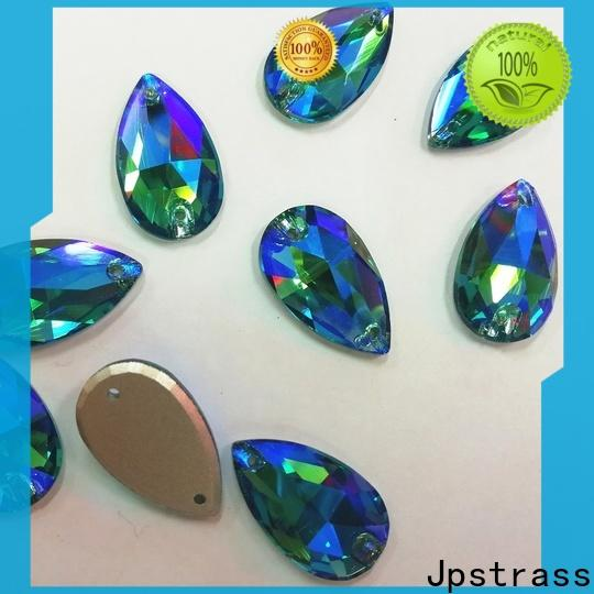 Jpstrass wholesale sew on rhinestones bulk factory for clothes
