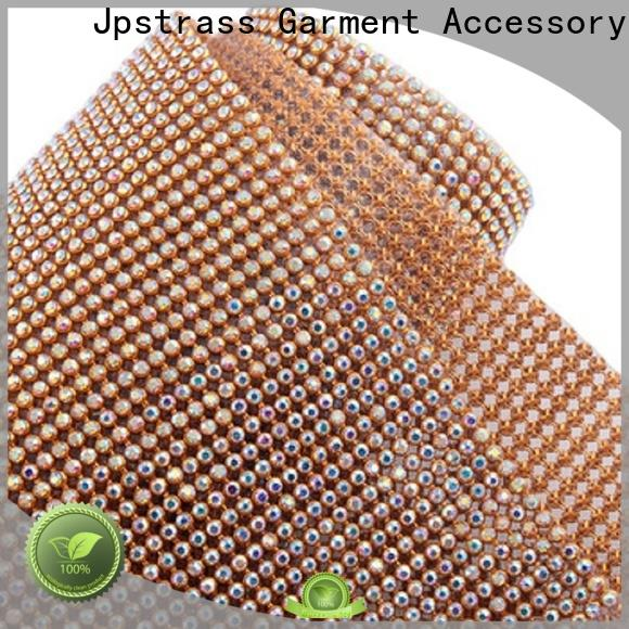 Jpstrass design rhinestone roll manufacturer for clothes