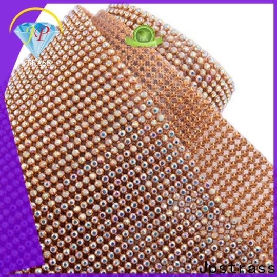 Jpstrass custom rhinestone chain factory for shoes