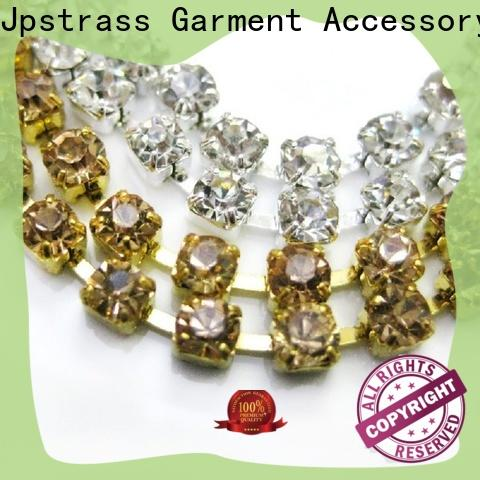 Jpstrass bulk rhinestone cup chain manufacturer for ballroom