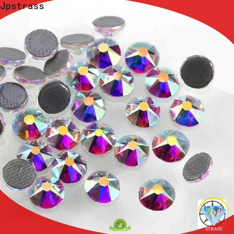 Jpstrass bulk iron on rhinestones wholesale clothing for clothes