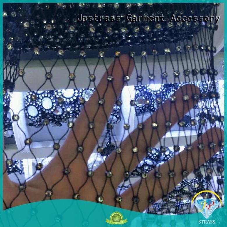 Jpstrass bulk rhinestone roll manufacturer for clothes