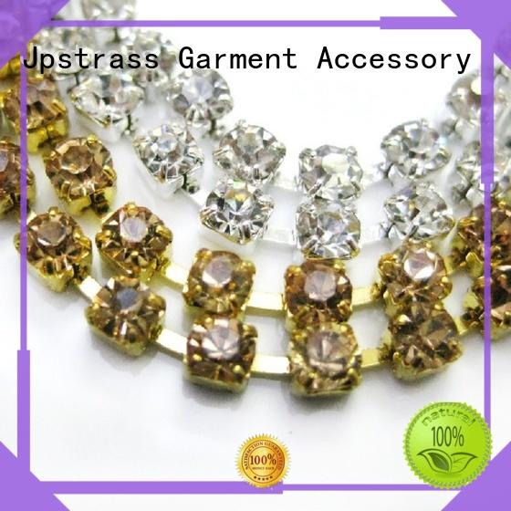 directly 2mm rhinestone chain jp beads for dress