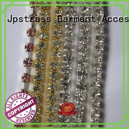 Jpstrass rhinestone cup chain wholesale supplier for bags