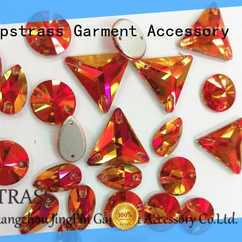 Jpstrass decorative flatback rhinestones facets for party