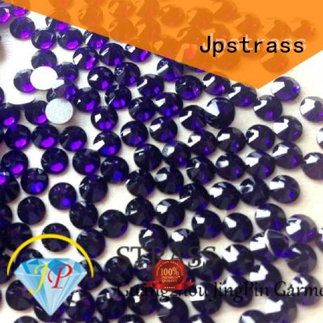 Jpstrass lead wholesale hotfix rhinestones suppliers factory for dress