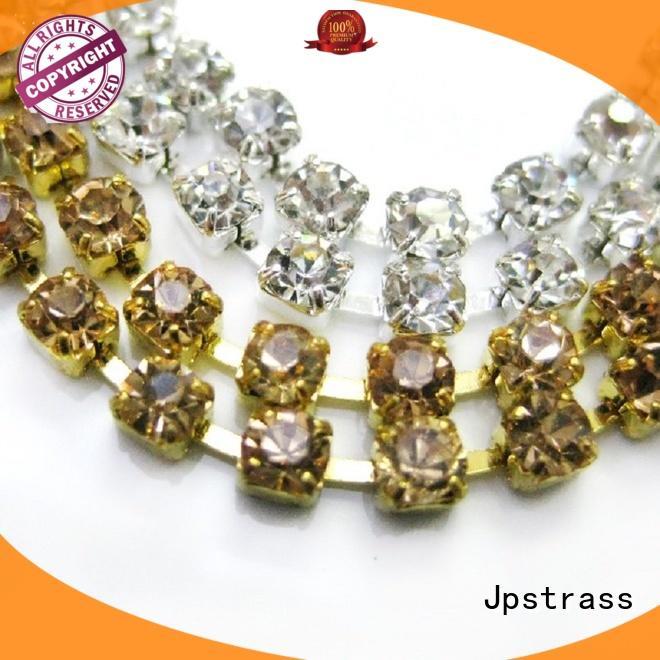 Jpstrass superior rhinestone ribbon beads for dress