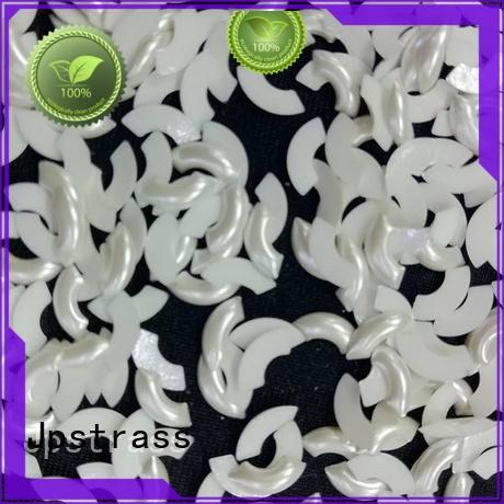 Jpstrass shiny wholesale pearl beads strass for ballroom