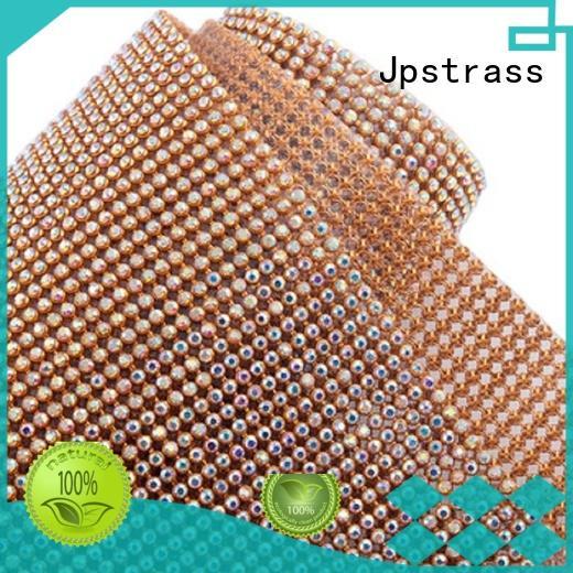 Jpstrass design rhinestone trim wholesale quality for ballroom