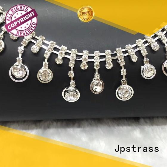 quality rhinestone chain decoration sale for dress