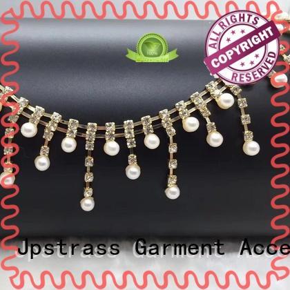 fancy gold rhinestone ribbon ab manufacturer for online