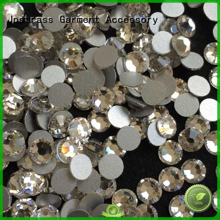 Jpstrass non flat back crystal rhinestones supplier for clothes