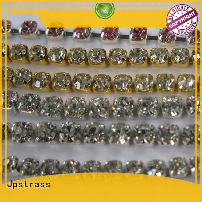 wholesale rhinestone cup chain decoration factory price for clothing