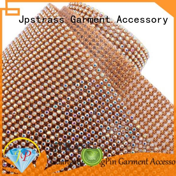 cup chain rhinestone dress factory for clothing