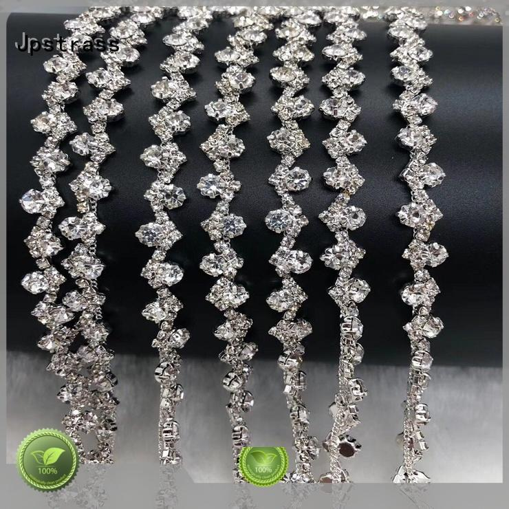 Jpstrass diamond rhinestone mesh roll factory for dress