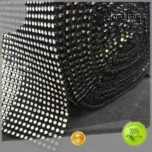 Jpstrass clear rhinestone ribbon quality for party