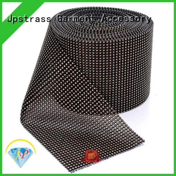 Jpstrass design iron on hotfix rhinestones yard for dress