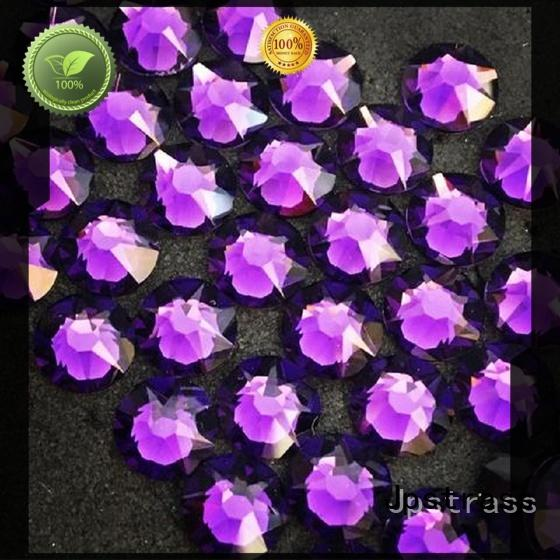 Jpstrass newly hotfix rhinestones supplier for bags